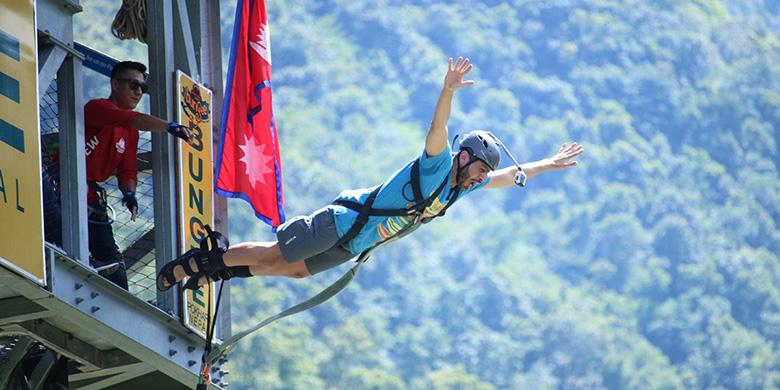 pokhara bungee jumping