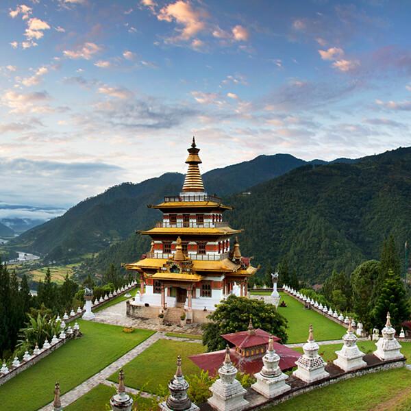 siteseeing in bhutan