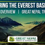 everest base camp tour and trek