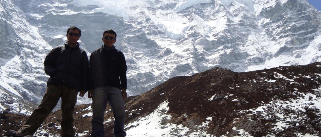 Khare at mera peak