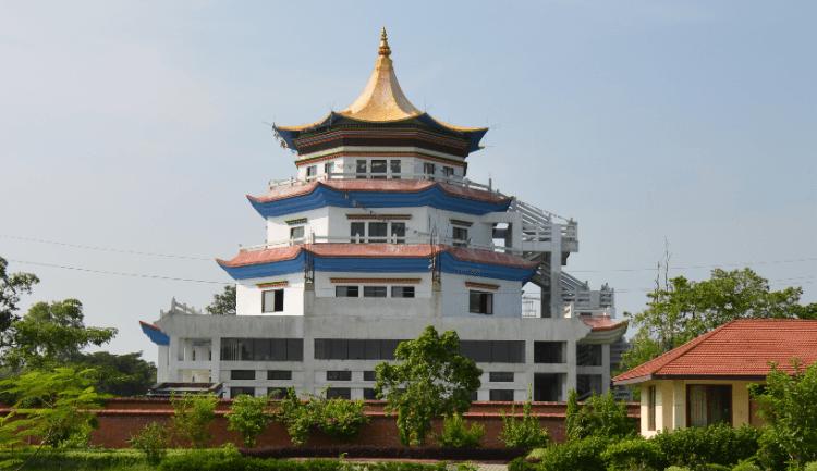 monastery in lumbini