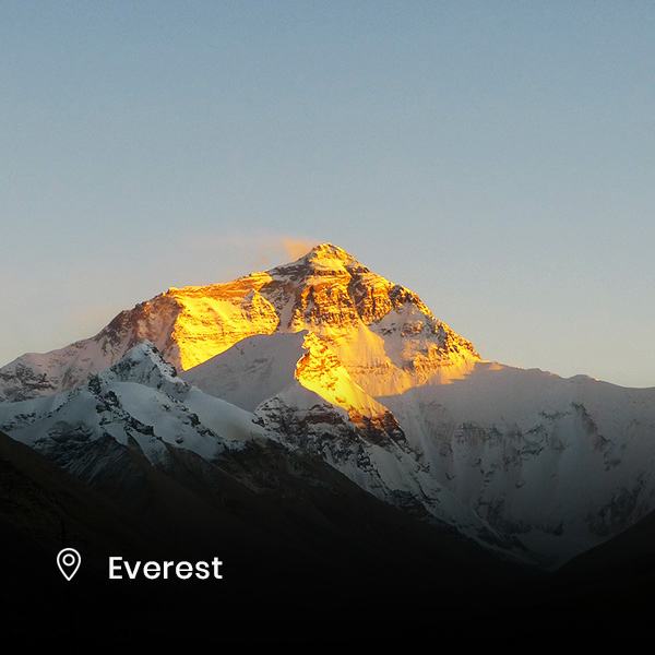 suntrise at mount everest