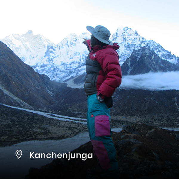 trekking at Kanchenjunga region